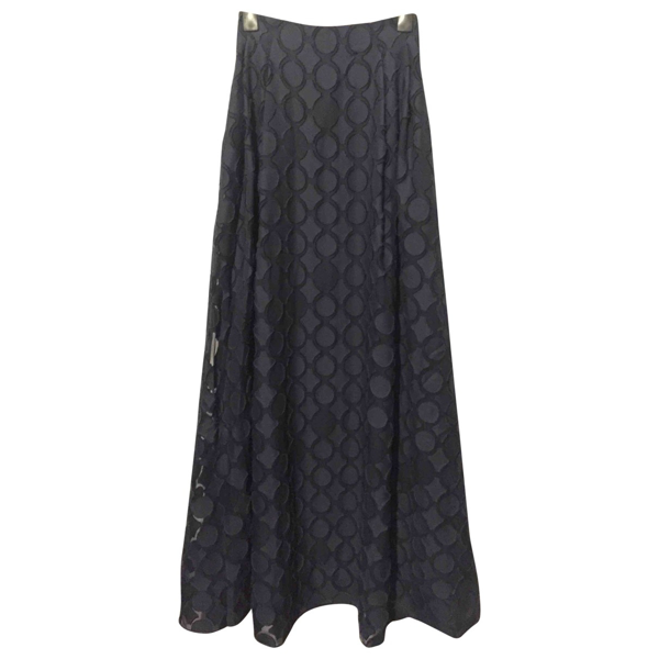 Pre-owned Roland Mouret Blue Cotton Skirt