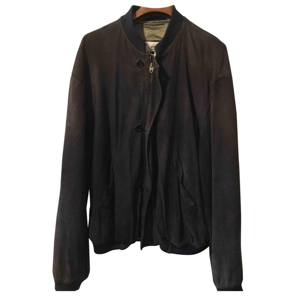 Pre-owned Chevignon Brown Suede Jacket