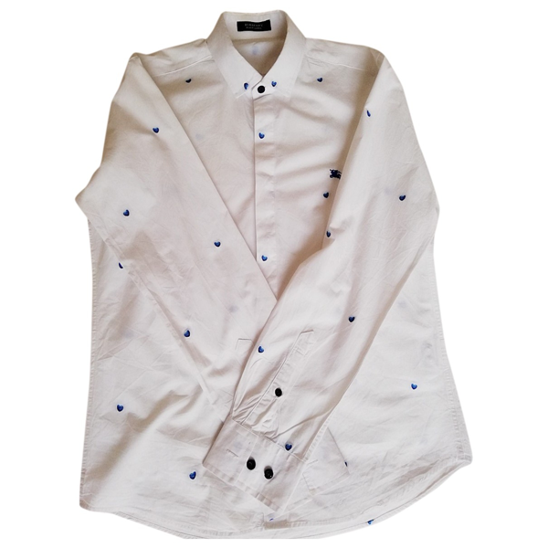 Pre-owned Burberry White Cotton  Top