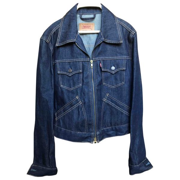 Pre-owned Levi's Blue Denim - Jeans Jacket