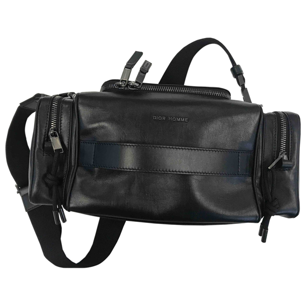 Pre-owned Dior Black Leather Bag