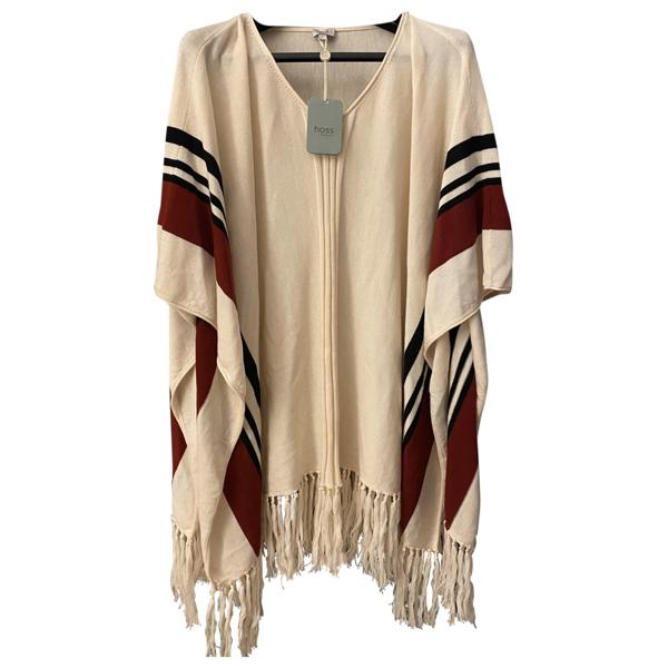 Pre-owned Hoss Intropia Beige Wool Coat
