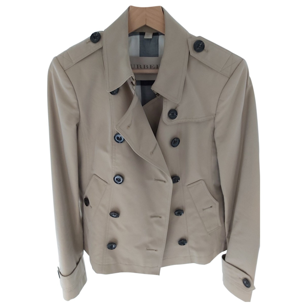 Pre-owned Burberry Beige Trench Coat