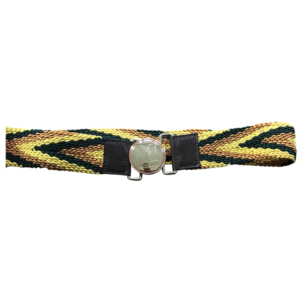 Pre-owned M Missoni Multicolour Cloth Belt