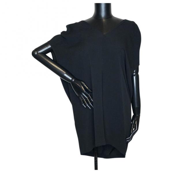Pre-owned Rick Owens Black Cotton Dress