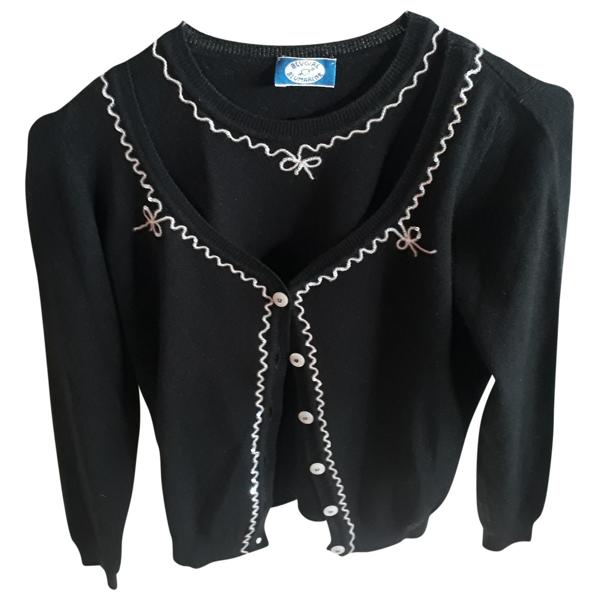 Pre-owned Blumarine Black Wool Knitwear