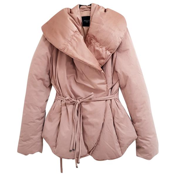 Pre-owned Max Mara Pink Coat