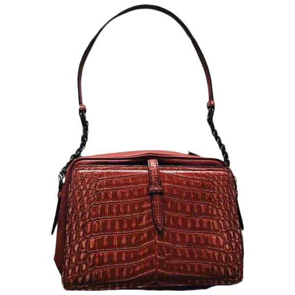 Pre-owned Bottega Veneta Red Alligator Handbag