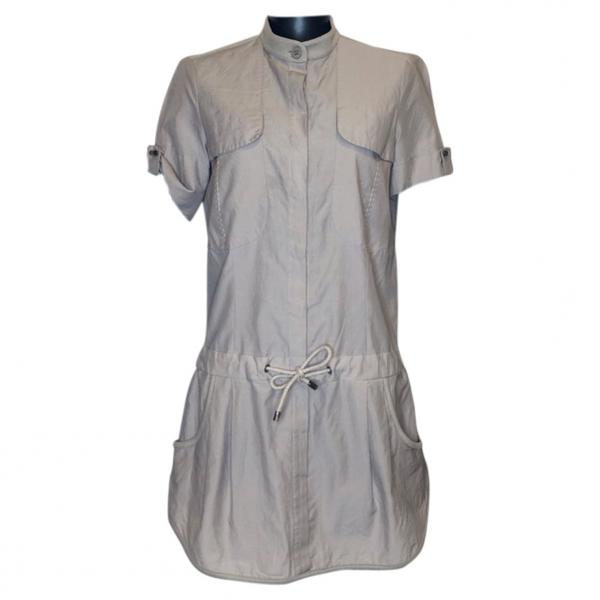 Pre-owned Brunello Cucinelli Beige Cotton Dress