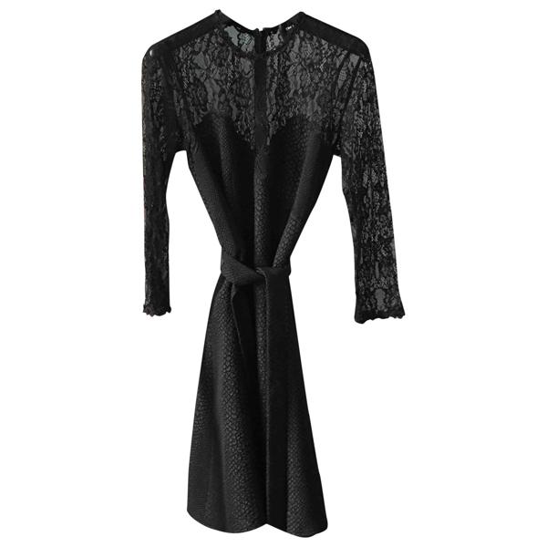 Pre-owned The Kooples Black Dress