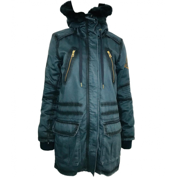 Pre-owned Zadig & Voltaire Blue Cotton Coat