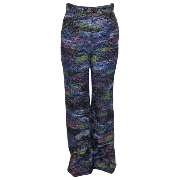 Pre-owned Chanel Multicolour Trousers