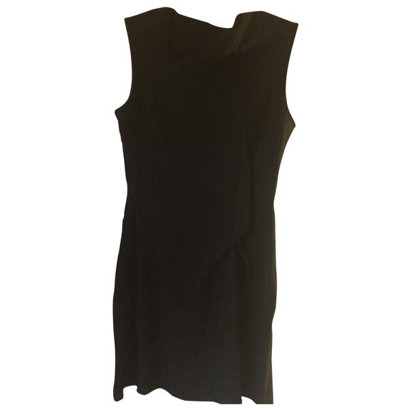 Pre-owned Roland Mouret Black Cotton Dress