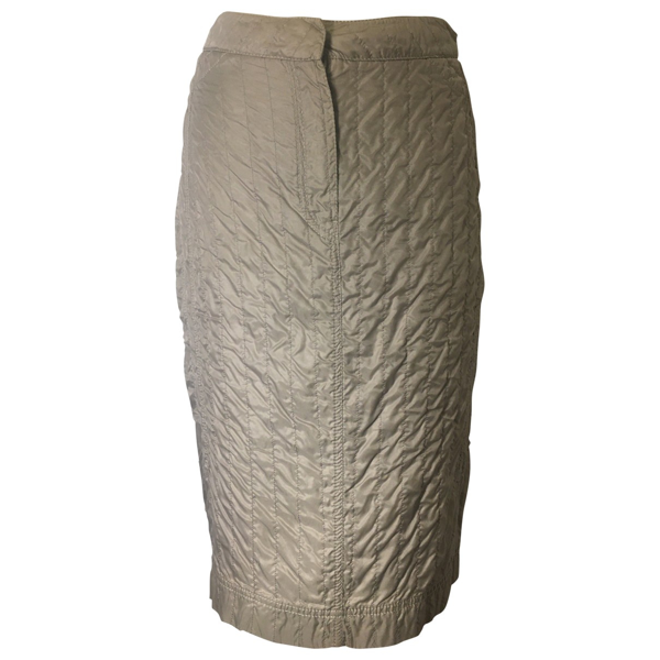 Pre-owned Prada Grey Skirt