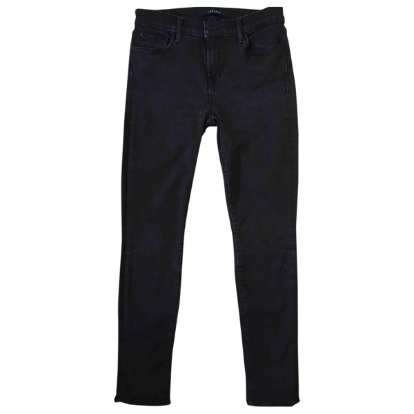 Pre-owned J Brand Black Cotton - Elasthane Jeans