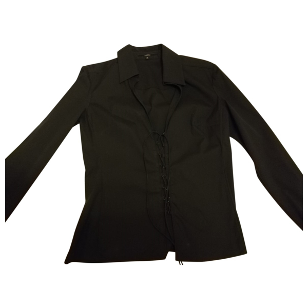Pre-owned Gucci Black Cotton Shirts