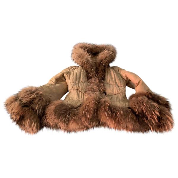 Pre-owned Moncler Camel Coat