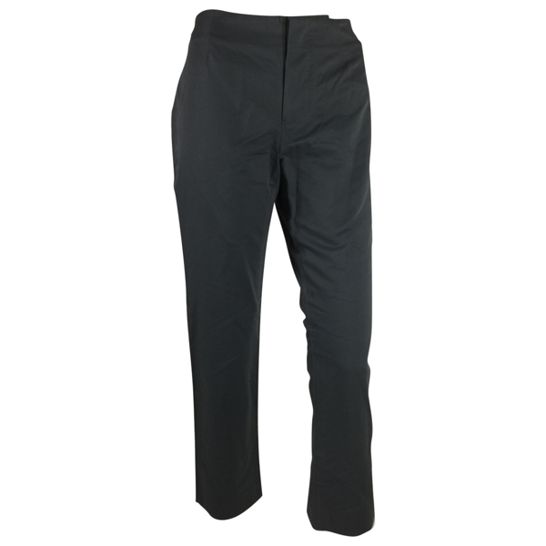 Pre-owned Marni Anthracite Wool Trousers