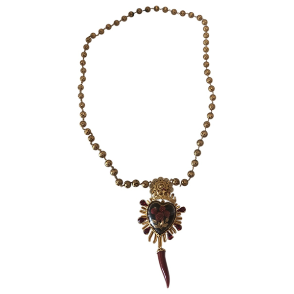 Pre-owned Dolce & Gabbana Gold Necklace
