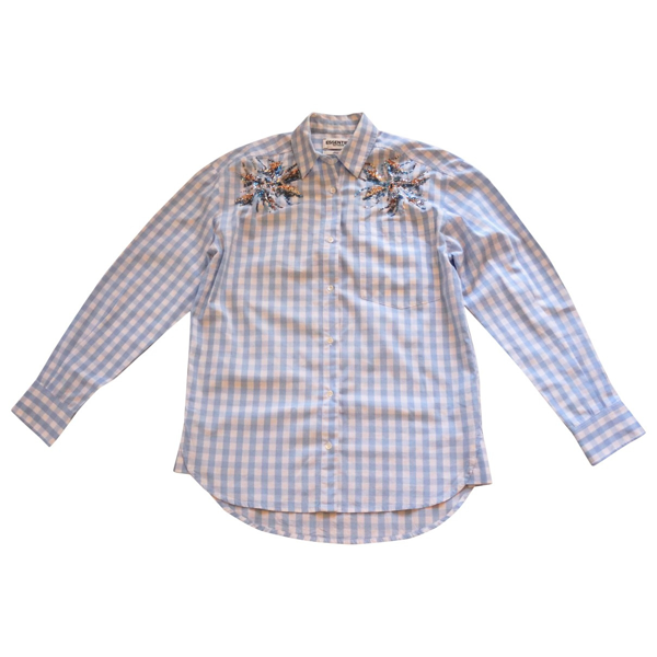 Pre-owned Essentiel Antwerp Blue Cotton  Top