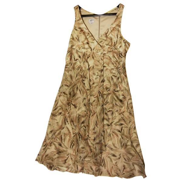 Pre-owned Armani Collezioni Multicolour Silk Dress