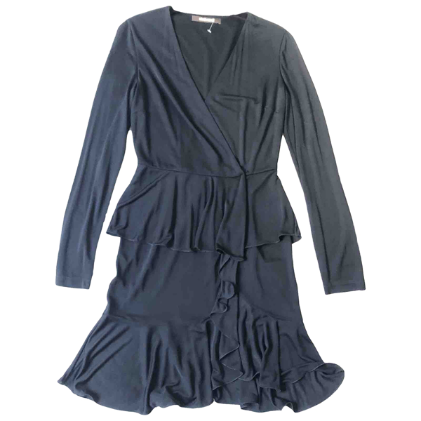 Pre-owned Roberto Cavalli Black Dress