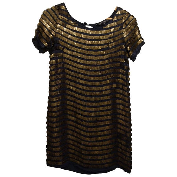 Pre-owned French Connection Metallic Glitter  Top
