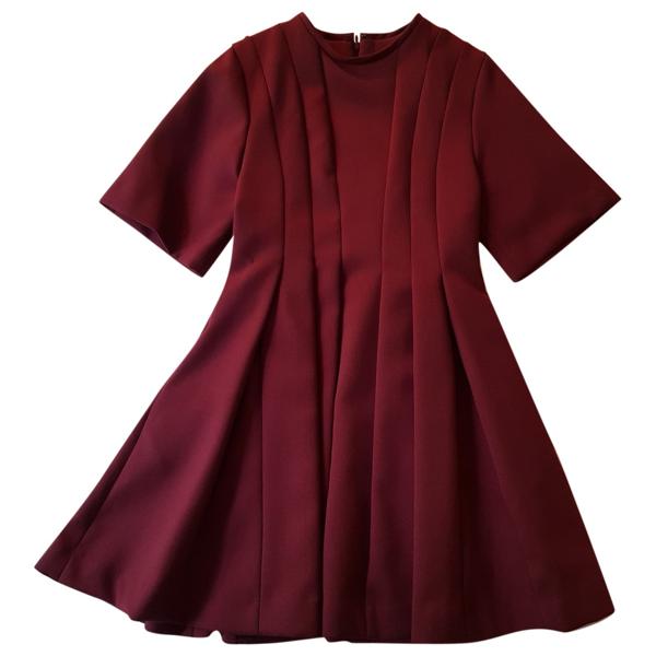 Pre-owned Paul & Joe Sister Burgundy Dress