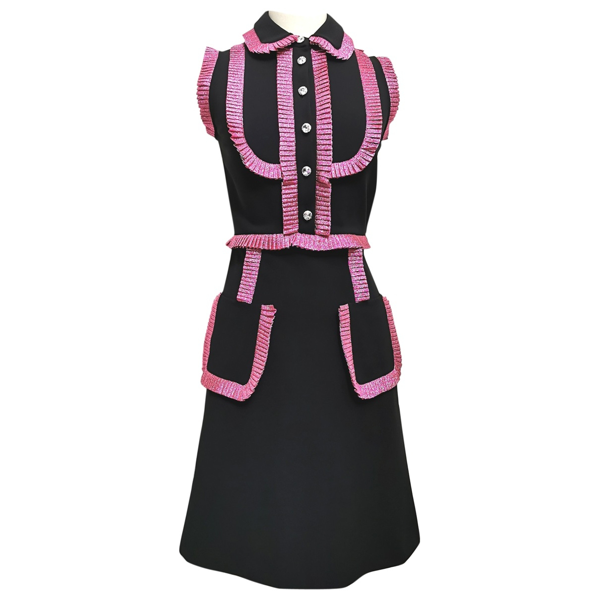 Pre-owned Gucci Black Dress