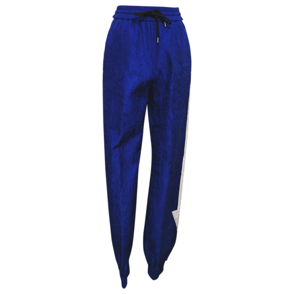 Pre-owned Msgm Blue Trousers