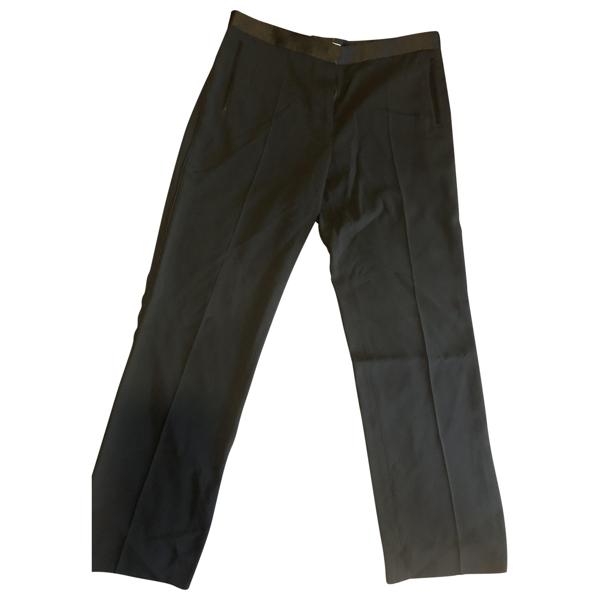 Pre-owned Celine Black Trousers