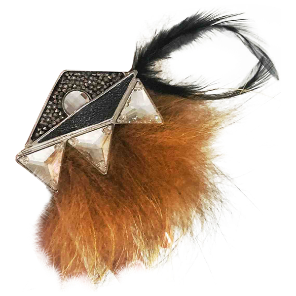 Pre-owned Fendi Silver Metal Ring