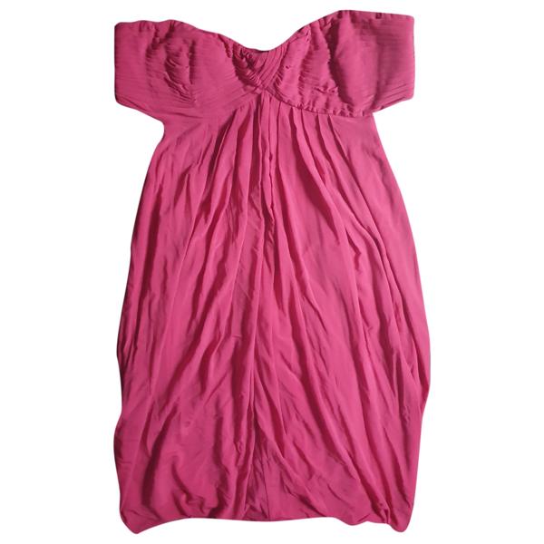 Pre-owned Bcbg Max Azria Pink Dress