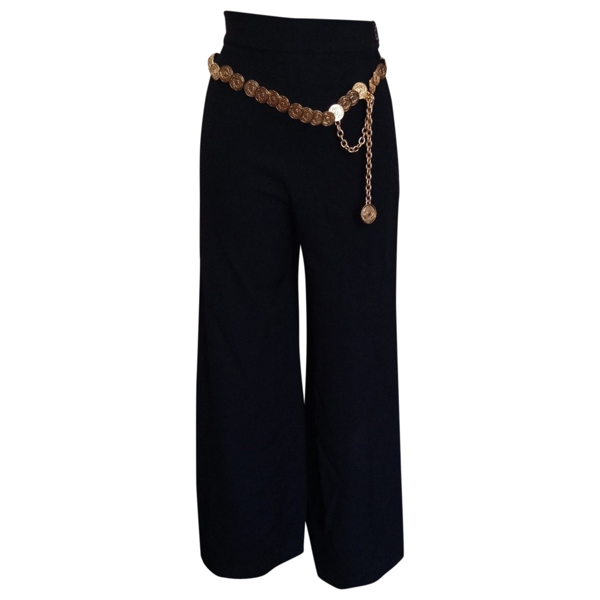 Pre-owned Moschino Cheap And Chic Black Trousers