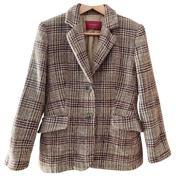 Pre-owned Burberry Multicolour Wool Jacket