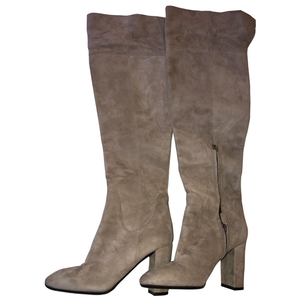 Pre-owned Lk Bennett Beige Suede Boots