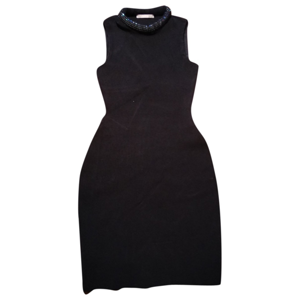 Pre-owned Christopher Kane Black Dress