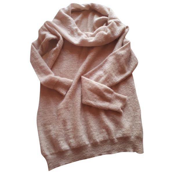 Pre-owned Trussardi Jeans Beige Wool Knitwear