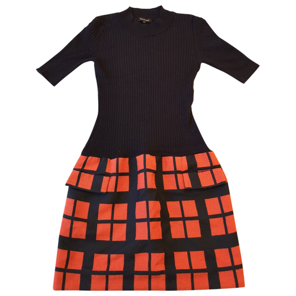 Pre-owned Tara Jarmon Multicolour Wool Dress