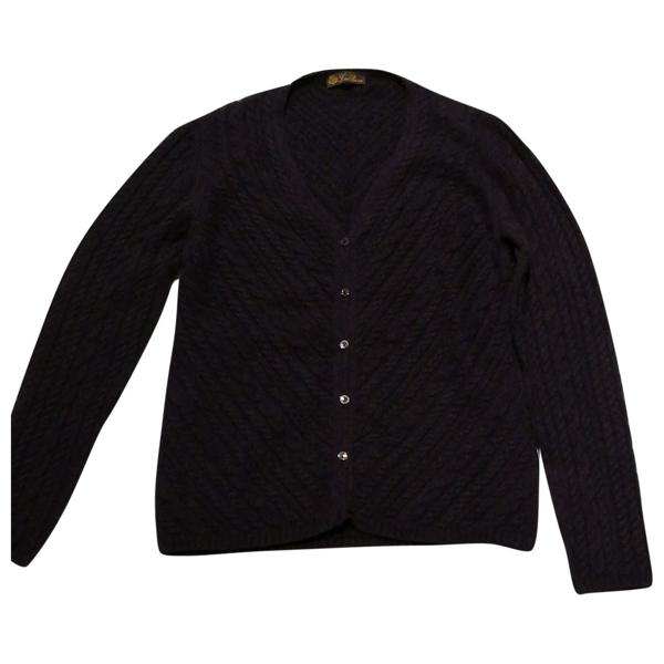 Pre-owned Loro Piana Purple Cashmere Knitwear