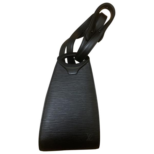 Pre-owned Louis Vuitton Black Leather Handbag