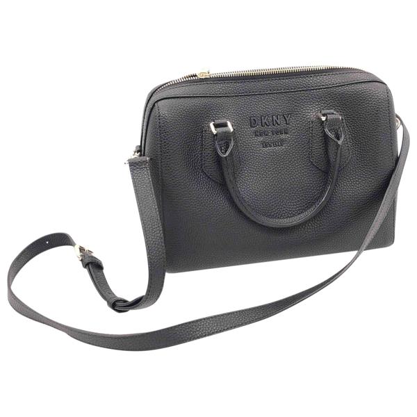 Pre-owned Donna Karan Black Leather Handbag