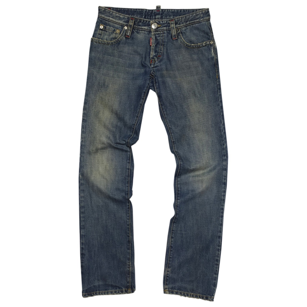 Pre-owned Dsquared2 Blue Cotton Jeans