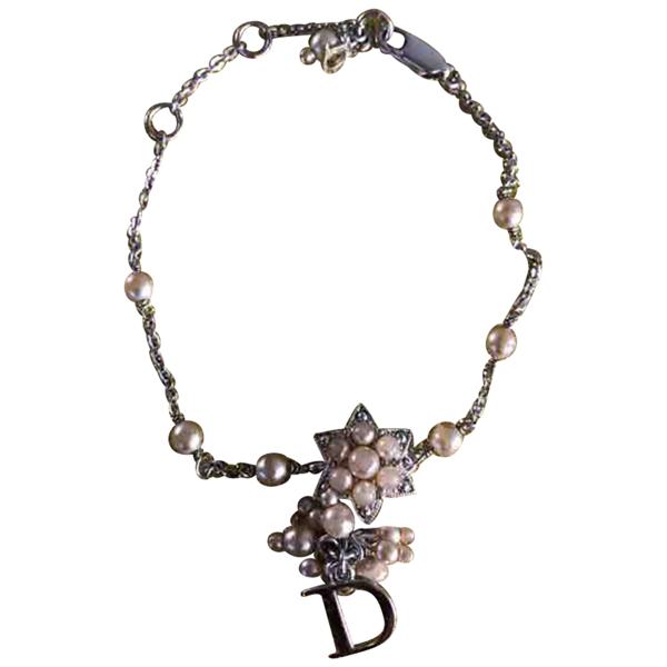 Pre-owned Dior Silver Metal Bracelet
