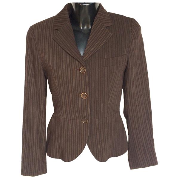 Pre-owned Max Mara Brown Wool Jacket