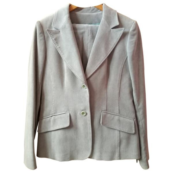 Pre-owned Gerard Darel Blue Cotton Jacket