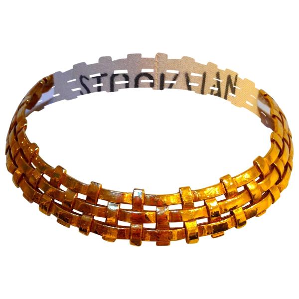 Pre-owned Saint Laurent Gold Metal Necklace