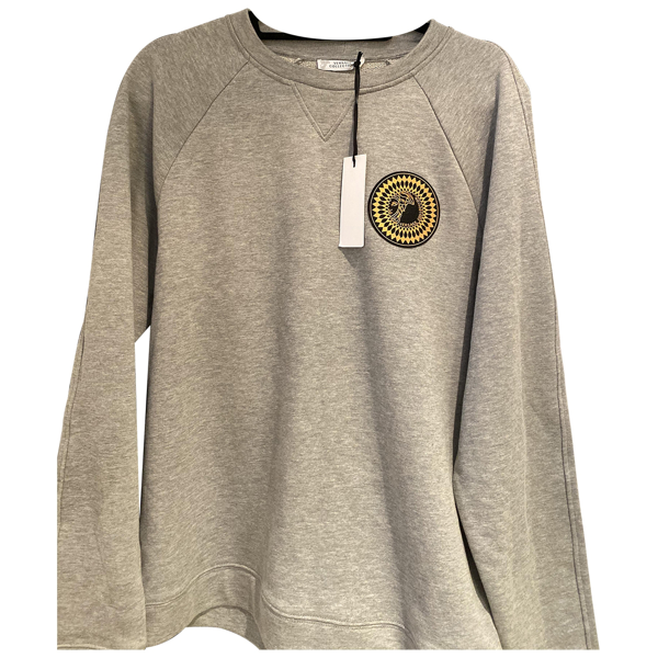 Pre-owned Versace Grey Knitwear & Sweatshirts