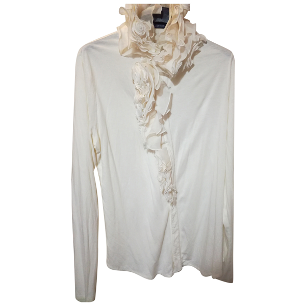 Pre-owned Ralph Lauren White  Top