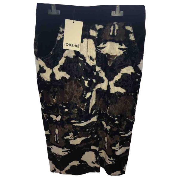 Pre-owned Jour/né Brown Skirt